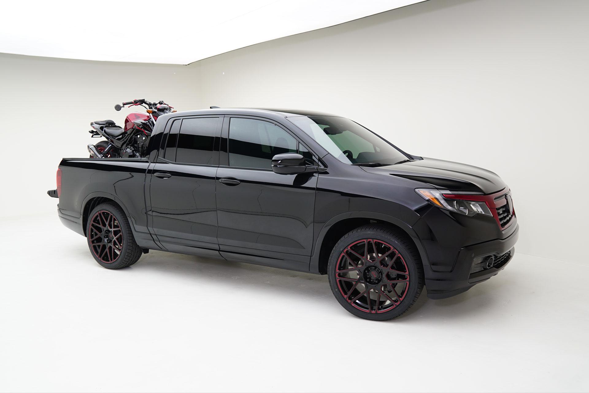 2017 MAD Honda Ridgeline Black Edition AWD - MAD INDUSTRIES